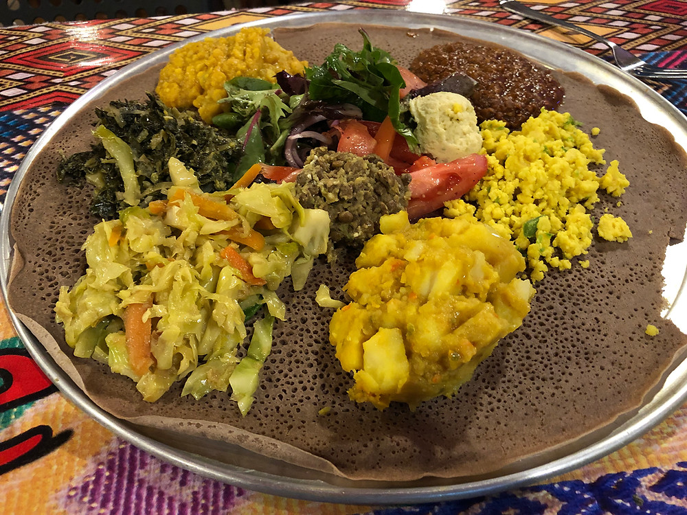 Vegetarian Combination Plate