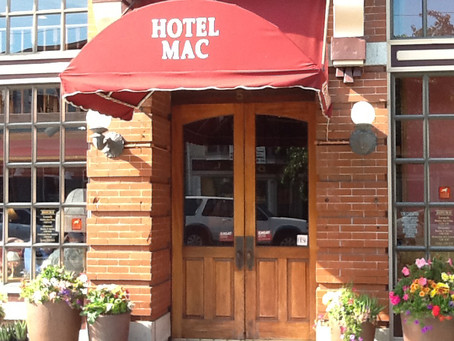 Hotel History - A peek behind the brick walls of Hotel Mac in Point Richmond