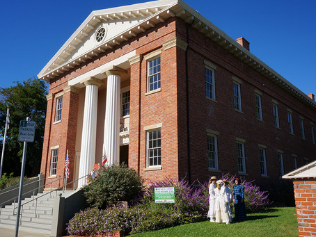 Former Ship, Former Capitol - California's oldest state capitol building is still opening its doors