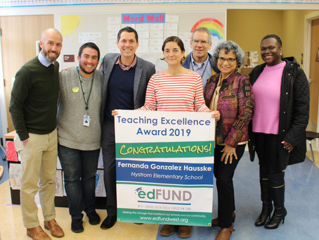 THE ED FUND - Fantastic Four: West Contra Costa Public Ed Fund Announces Teaching Excellence Winners