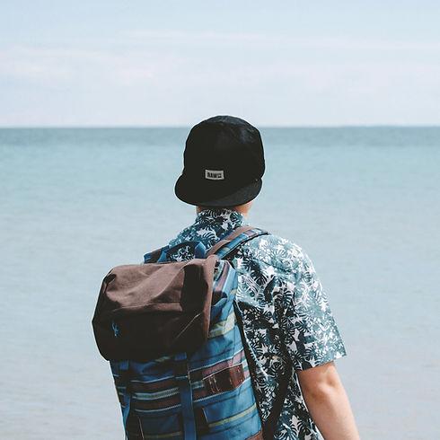 Guy Looking at Ocean