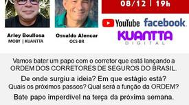 Kuantta Digital promove transmissão remota sobre os detalhes da Ordem dos Corretores de Seguros