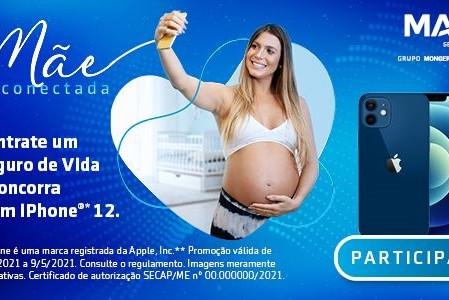 MAG Seguros lança promoção e irá sortear 2 Iphones 12 no Dia das Mães