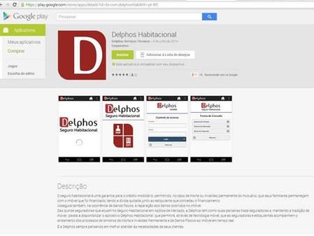 Delphos cria aplicativo que permite o acompanhamento dos processos de Seguro Habitacional