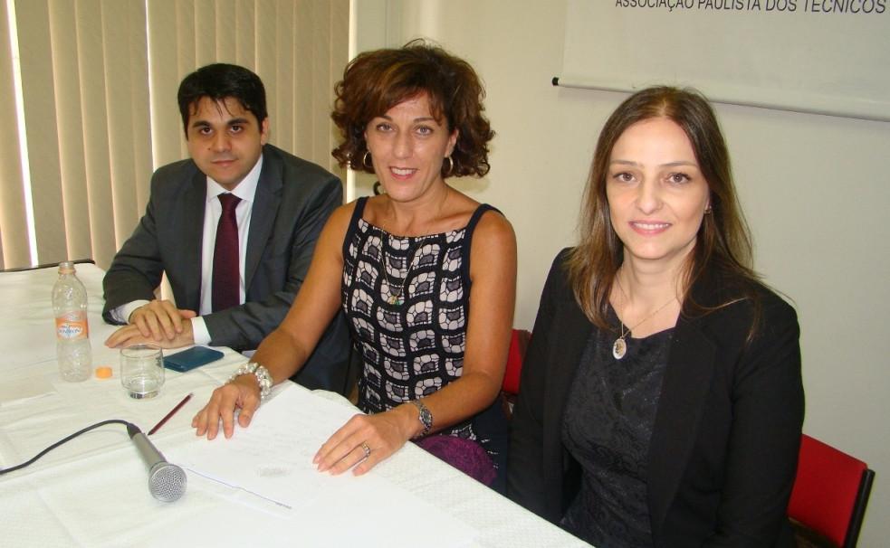 Fernando Martins Chaves, Helena Prado e Darli Bechara