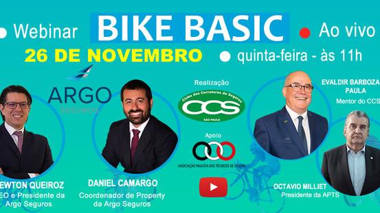 Webinar sobre seguros para bicicletas tem o apoio da APTS
