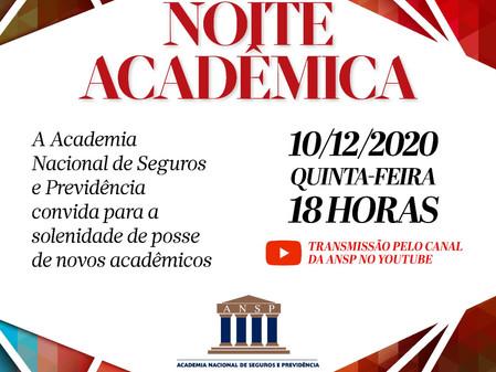 ANSP empossa 27 novo acadêmicos