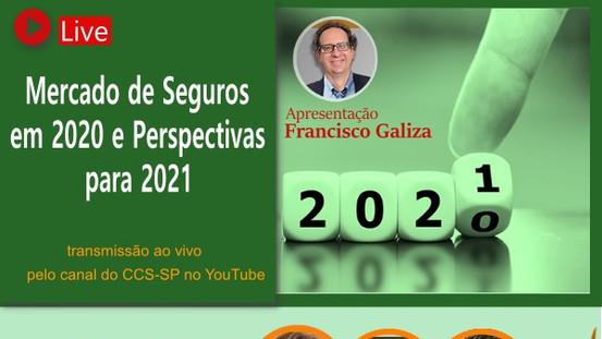 CCS-SP encerrará o ano com live sobre o mercado de seguros no pós-pandemia