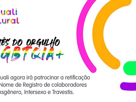 Qualicorp pagará o registro aos colaboradores LGBTQIA+ que desejarem adotar o nome social