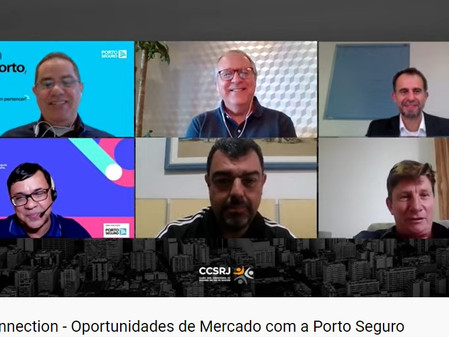Live Connection do CCS-RJ e AECOR-RJ aborda as oportunidades da Porto Seguro