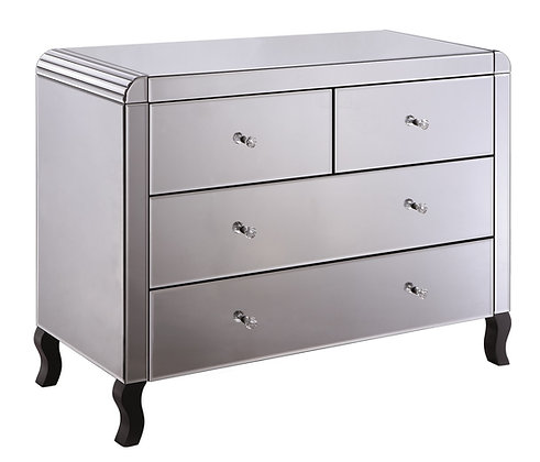 Smokey Mirrored Chest