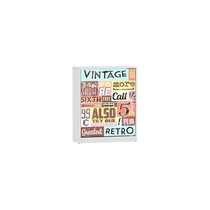 vintage shoe cabinet