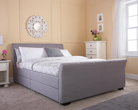 Hannover 4'6 bed Faux Leather