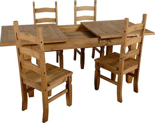 Crown extending dining set