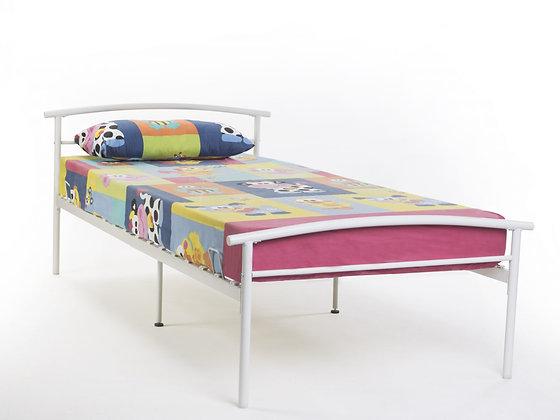 Kiera single metal bedframe