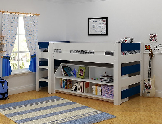 Lollipop bed frame Blue