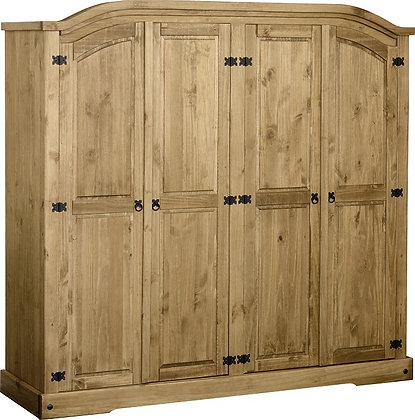 Crown 4 door wardrobe