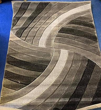 Wave design rug