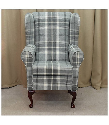 Tartan Fireside Chair