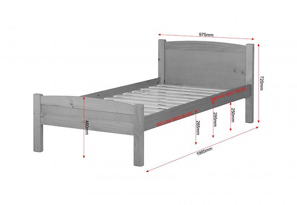 Amber 3ft bed