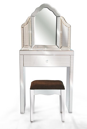 Small Mirrored Dressing Table