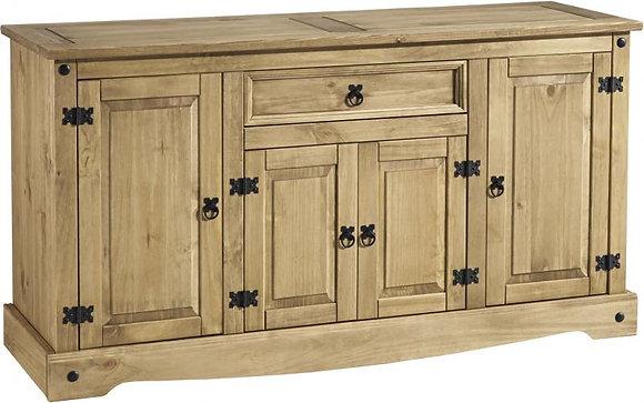 Crown 4 door 1 drawer sideboard