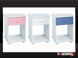 Rainbow 1 Drawer bedside cabinet