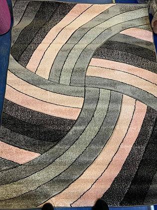 Wave pink Rug