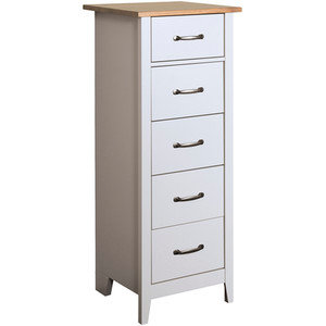 Nathan 5 drawer narrow chest