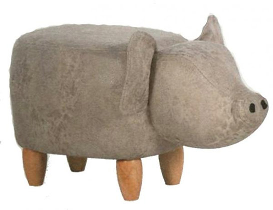 Pig footstool