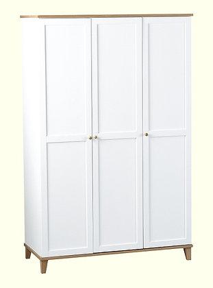 Arcadia triple wardrobe