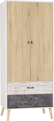 Norton 2 door 2 drawer wardrobe