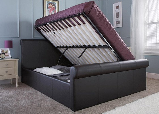 Carolina 4'6 Storage Bedframe