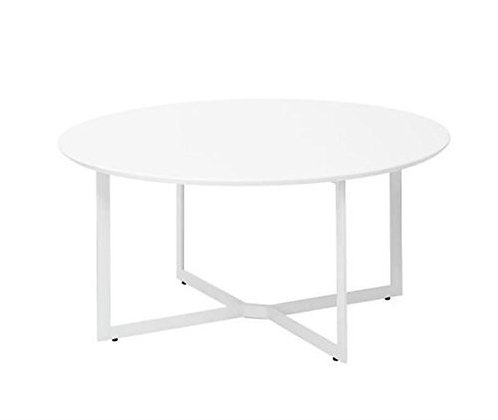 Gloss White round coffee table