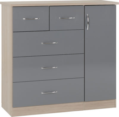 Nadia low drawer Wardrobe