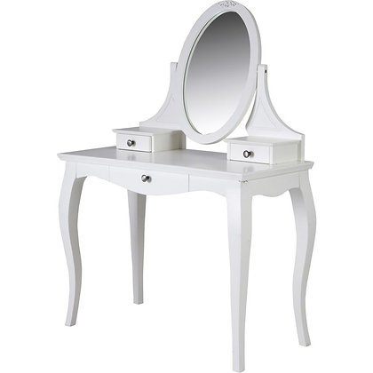 Aylsa Dressing table, stool and mirror set