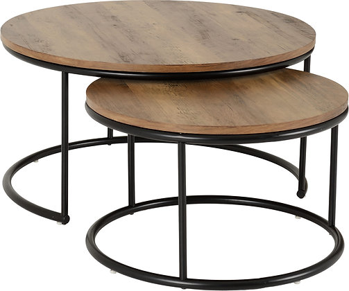 Quinton Round nest of tables