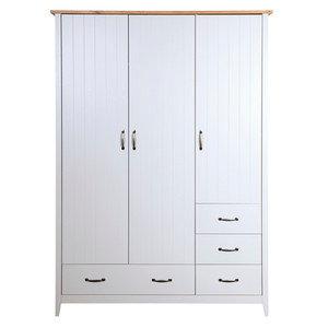 Nathan 3 door 4 drawer wardrobe
