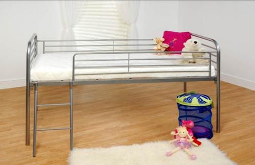 Metal Mid Sleeper Bunk Bed