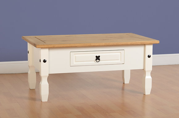 Crown White Coffee table