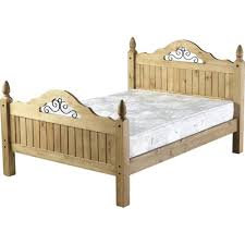 Crown Scroll Bed 4ft6