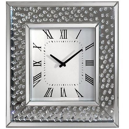 Rhombus square Clock