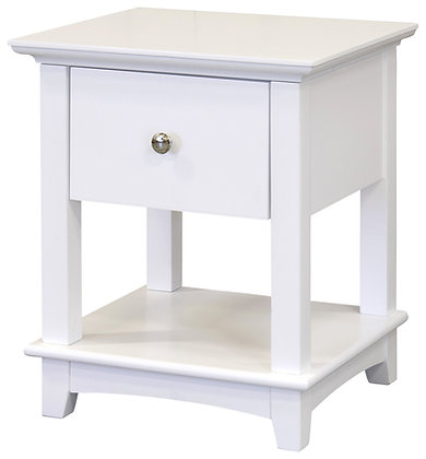 Toulouse 1 drawer bedside cabinet