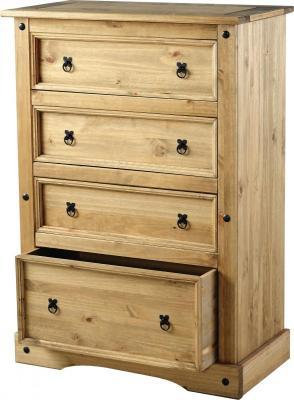 Crown 4 drawer Chest