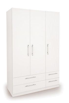 Angel 3 door 4 drawer wardrobe