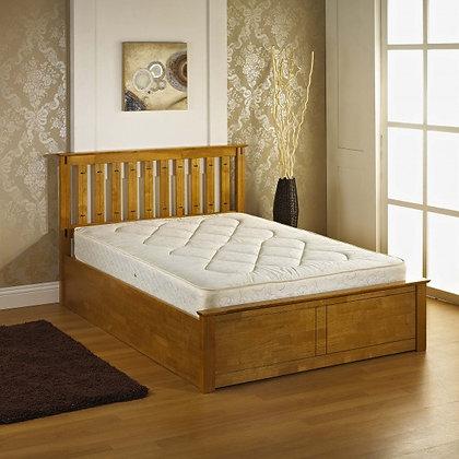 Veronica storage ottoman bed