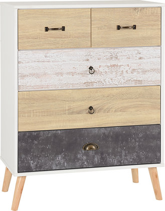 Norton 3+2 chest of drawers