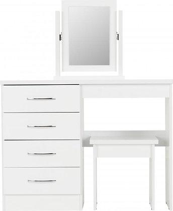 Nadia 4 drawer dressing table set