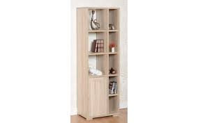 Camden 1 door 5 shelf display cabinet