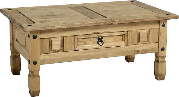 Crown 1 drawer Coffee Table